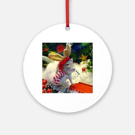 Clover Round Ornament