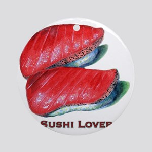 Sushi Lover Round Ornament