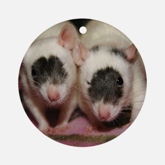 Molly and Maggie Round Ornament