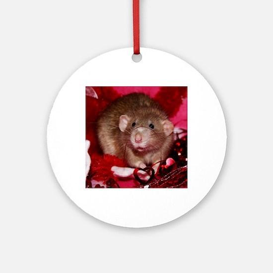 Graham Round Ornament