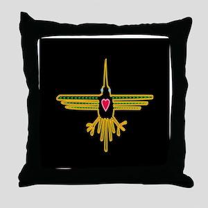 hummingbirdTL Throw Pillow