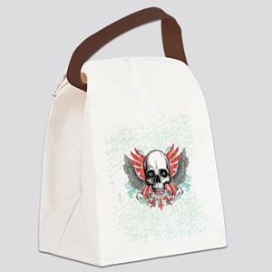 Skull Wrath Canvas Lunch Bag