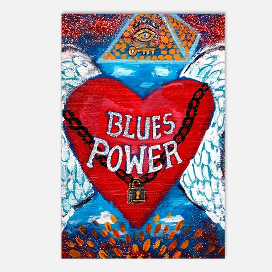 Blues Power Postcards (Package of 8)