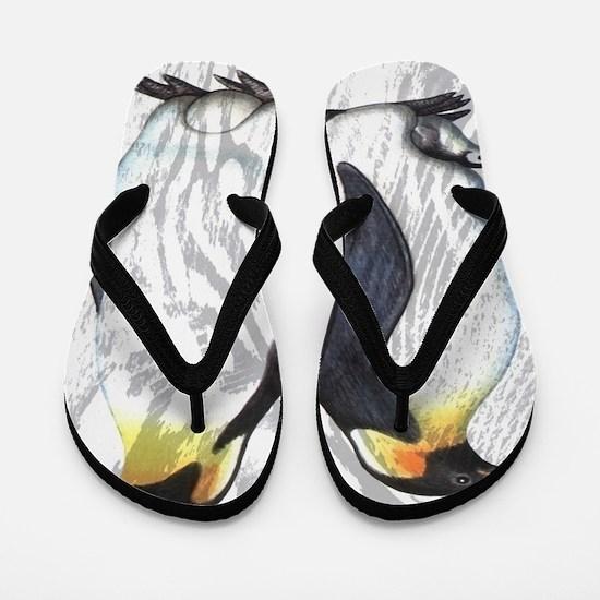 Emperor Penguins Flip Flops