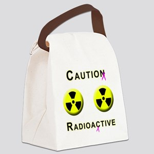 Caution Radioactive Canvas Lunch Bag