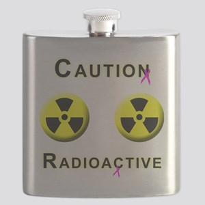 Caution Radioactive Flask