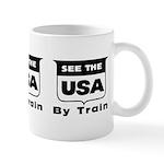 See The USA By Train ! Mug