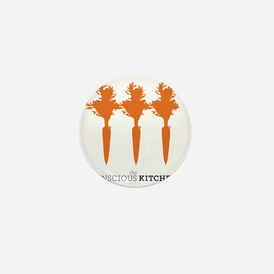 The Conscious Kitchen Carrot I Tote Mini Button
