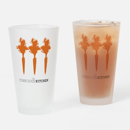 The Conscious Kitchen Carrot I Tote Drinking Glass