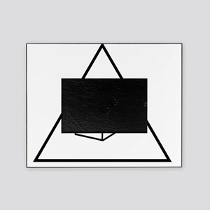 Triangle-Cube Picture Frame