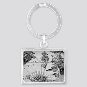 The Birth of Venus Landscape Keychain