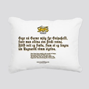 Ragnarok Rectangular Canvas Pillow