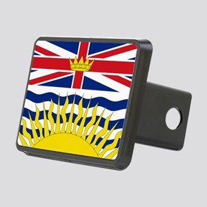 British Columbian Flag Rectangular Hitch Cover