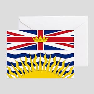 British Columbian Flag Greeting Card
