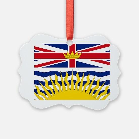 British Columbian Flag Ornament