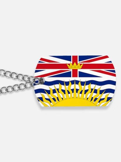 British Columbian Flag Dog Tags