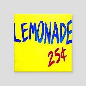 "lemonade sign Square Sticker 3"" x 3"""