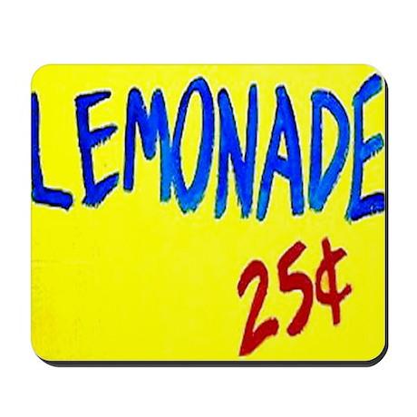 lemonade sign mousepad by admin cp14980079