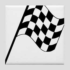 Racing Flag Tile Coaster