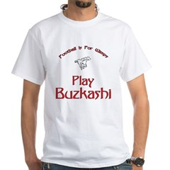 Buzkashi 1 White T-Shirt