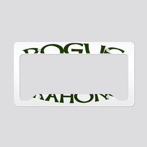 Pogue-mahone-CAP License Plate Holder