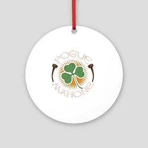 pogue-mahone-DKT Round Ornament