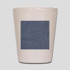 Blue Denim Shot Glass