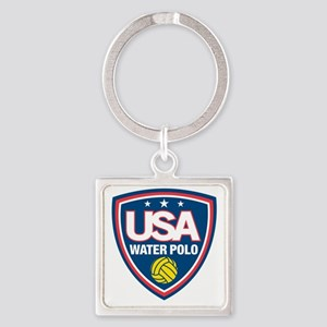 water polo Square Keychain