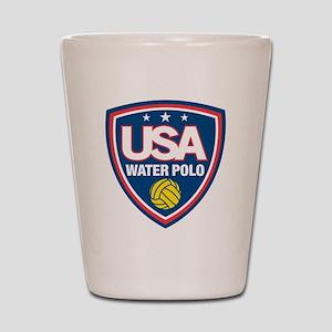 water polo Shot Glass