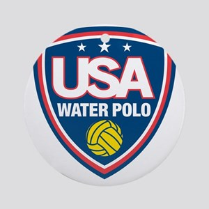 water polo Round Ornament