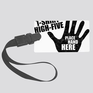 High-Five Large Luggage Tag