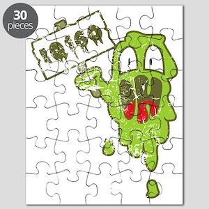 Kotze mit hohem IQ Puzzle