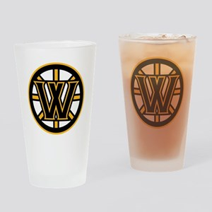 Wormtown_Bruins_Logo Drinking Glass