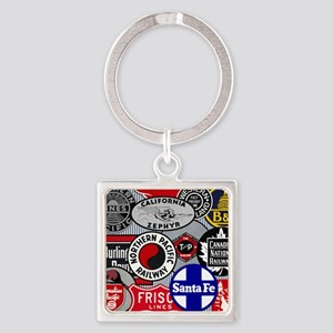 Railroad Square Keychain