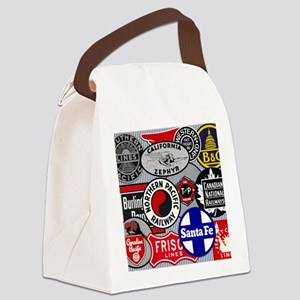 Railroad Canvas Lunch Bag