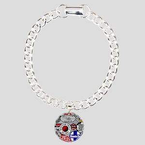 Railroad Charm Bracelet, One Charm