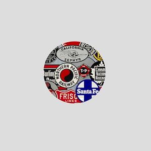 Railroad Mini Button