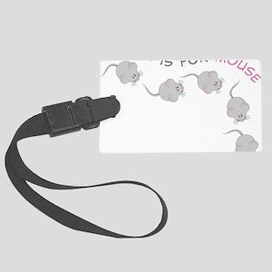 Mouse Large Luggage Tag