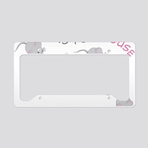 Mouse License Plate Holder