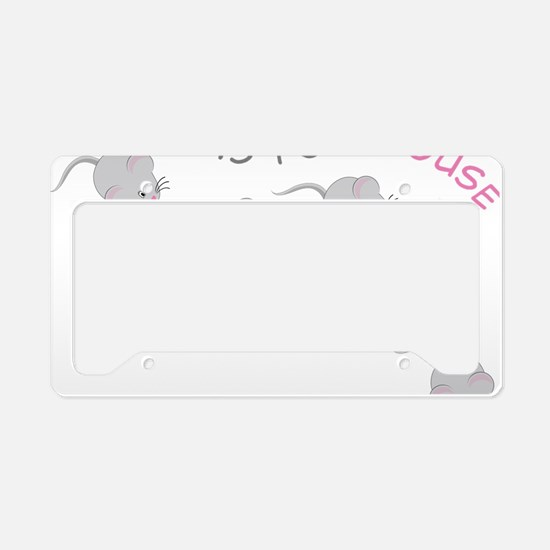 Mouse License Plate Holder