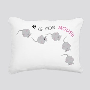 Mouse Rectangular Canvas Pillow