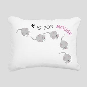 Mouse Rectangular Canvas Pillow
