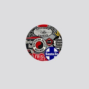 Train logos Mini Button