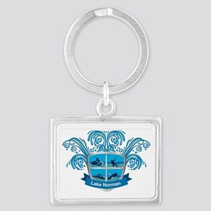 Lake Norman Splash Logo - LKN Landscape Keychain