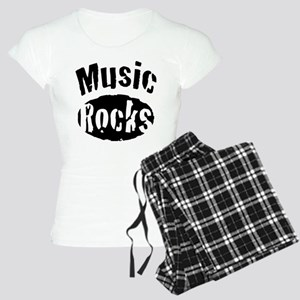 Music Rocks Women's Light Pajamas