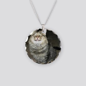 Snicker - Love Is Blind Necklace Circle Charm