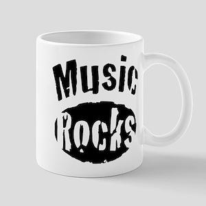 Music Rocks Mug