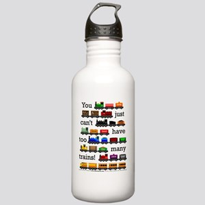 Too Many Trains Stainless Water Bottle 1.0L