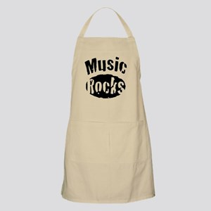 Music Rocks Light Apron