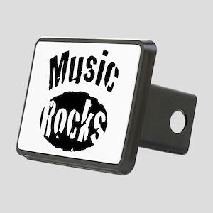 Music Rocks Rectangular Hitch Cover